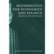 Mathematics for Economics and Finance by Martin Anthony