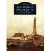 Twin Lights of Thacher Island, Cape Ann by Paul St Germain