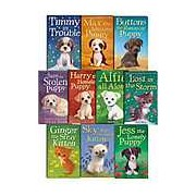 Holly Webb 10 books Collection Puppy and kitten Childrens Gift Set Sophy William (Timmy in Trouble Max the Missing Puppy Sam the Stolen Puppy Buttons the Runaway Puppy Harry the Homeless Puppy mo