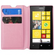 Funda Cartera Nokia 520 Lumia Rosa