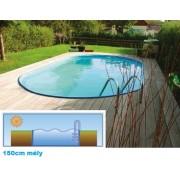 Hobby Pool Toscana fémpalástos medence 3,5 x 7 x 1,5m standard peremmel AS-184039