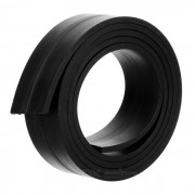 1000 x 25 x 3mm DIY Single Sided Flexible Magnetic Strip Tape Rubber Magnet for Office & School