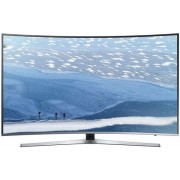 "Televizor LED Samsung 139 cm (55"") 55KU6672, Smart TV, Ultra HD 4K, Ecran Curbat, WiFi, CI+ + Serviciu calibrare profesionala culori TV"