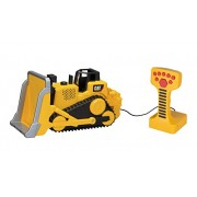 Toy State Caterpillar Construction Machines Light and Sound Job Site Machine Bulldozer (Styles May V
