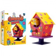 Jumboo 3D DIY Art and Craft Set For Kids-Cuckoos House