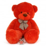 Super Giant 7 Feet Red Bow Teddy Bear Soft Toy