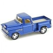 KiNsMART 1955 Chevy Stepside Pick-Up 1/32 Blue