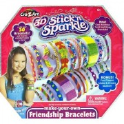 Cra-Z-Art Stick N Sparkle Make Your Own Friendship Bracelet Kit