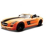 Maisto 1:24 All Stars Mercedes-Benz SLS AMG Roadster Diecast Vehicle