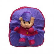Purple Cute,Soft Toy School Bag For Kids, Travelling Bag, Carry Bag, Picnic Bag BY Muren