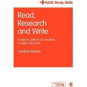 Read, Research and Write by Caroline Brandt