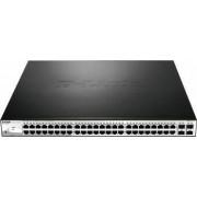 Switch D-Link DGS-1210-52p 48-port Gigabit Ethernet 4-port SFP Layer 3 PoE