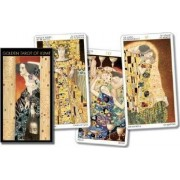 Golden Tarot of Klimt Cards by Lo Scarabeo