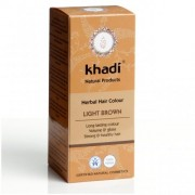 Vopsea de păr naturală Șaten Deschis - Khadi