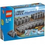 Lego Klocki LEGO City Elastyczne Tory 7499