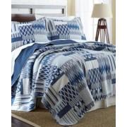 3-Piece Reversible Quilt Set 100% Cotton Aubrey