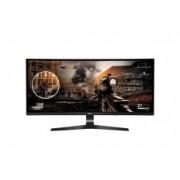 Monitor Gamer Curvo LG 34UC79G-B LED 34'', FullHD, UltraWide, HDMI, Negro/Rojo