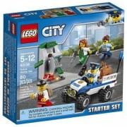 Конструктор ЛЕГО Сити - Начален полицейски комплект - LEGO City Police, 60136