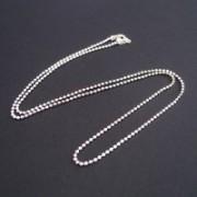 Chain Silver 925 Balls 45cm / 1mm
