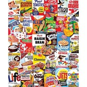 White Mountain Puzzles Cereal Boxes - 1000 Piece Jigsaw Puzzle by White Mountain Puzzles