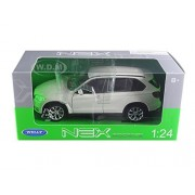 Bmw X Drive 5.0i White 1/24 By Welly 24052