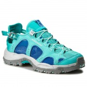 Туристически SALOMON - Techamphibian 3 W 393463 20 M0 Ceramic/Nautical Blue/Aruba Blue