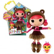 "Mga Entertainment Lalaloopsy ""Sew Magical! Sew Cute!"" 12 Inch Tall Button Doll Teddy Honey Pots With Pet ""Bee"""