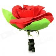 Acero Inoxidable + Poliester Iluminacion Partido de Rose juguete - Rojo + Verde