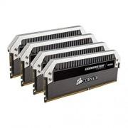 Corsair CMD32GX4M4B2133C10 Dominator Platinum 32GB (4x8GB) DDR4 2133Mhz Mémoire Pour Ordinateur De Bureau Destinée Aux Passionnés Avec Profil XMP 2.0. Noir