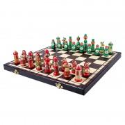 Set de șah artizanal MATRIOȘKA