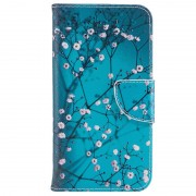 Bolsa tipo Carteira Wonder Series para Samsung Galaxy Xcover 4 - Flores Brancas