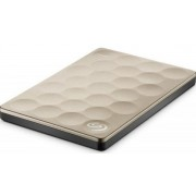 HDD Extern Seagate Backup Plus Ultra Slim, 2.5 inch, 1TB, USB 3.0 (Auriu)