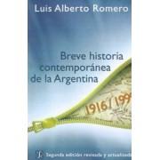 Breve Historia Contemporanea de la Argentina by Luis Alberto Romero