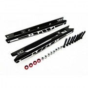 Hot Racing YEX56C01 Aluminum Channel Rear Link Stiffeners for Axial Yeti XL