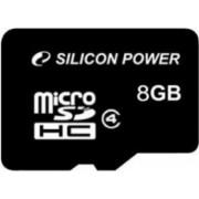 Card de Memorie Silicon Power microSDHC 8GB Class4
