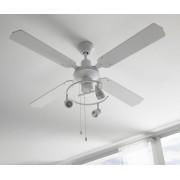 Ventilador techo focos orientables