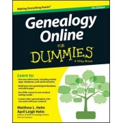 Genealogy Online For Dummies by April Leigh Helm