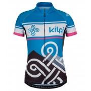 KILPI Dámský cyklistický dres SEPTIMA-W AL9001KIBLU Modrá 34