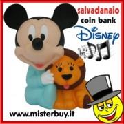 SALVADANAIO DISNEY TOPOLINO BABY MUSICALE