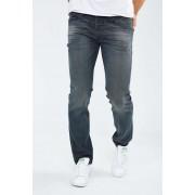 Jeans Diesel Belther Regular Tapered Noir Bleu Homme