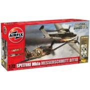 Airfix A50128 - Box Large Gift Set: Dogfight Doubles Messerschmitt