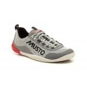Musto Scarpe Uomo 44,5 Dynamic Pro White Mesh Sportive Professionali Dinamiche