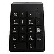 MOJO Wireless Numeric Keypad Portable Compact Number Pad NumPad Keyboard for Desktops/Laptops