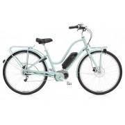 Electra Townie Commute GO! 8i EQ Ladies - Mineral Blue - E-Bikes
