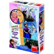 Puzzle cu masuratoare - Frozen 150 piese