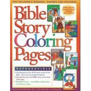 Bible Story Coloring Pages by Chizuko Yasuda