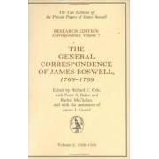 General Correspondence of James Boswell, 1766--1769 by James Boswell