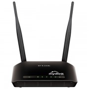 Router wireless D-LINK Cloud N300 (DIR-605L), 300Mbps, WAN, LAN, negru