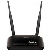Router wireless D-LINK Cloud N300 (DIR-605L), 300Mbps, WAN, LAN, negru