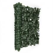 Blumfeldt Fency parbriz de confidențialitate 300 x 100 cm, de culoare închisă- iederă verde (GDW2-FencyDarkIvy310)